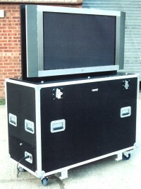 Electric Lift Plasma Flight Case